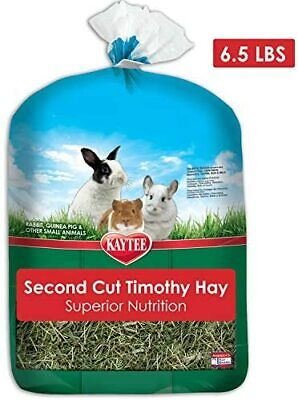 Kaytee Timothy Hay 2ND Cut for Flavorful & Balanced Nutrition, 6.5 lb