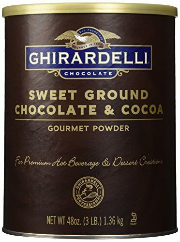 Ghirardelli Sweet Ground Chocolate & Cocoa 3lb Can