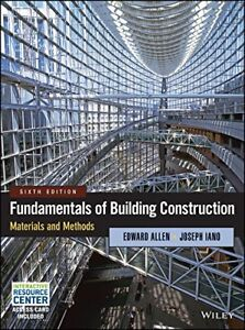 Fundamentals of Building Construction: Materials and Methods 6th