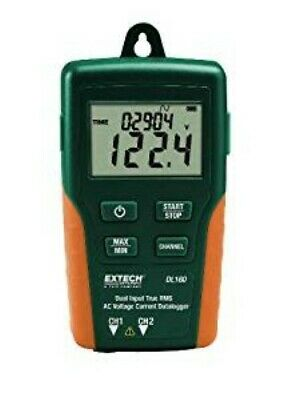 Extech Dl160 Dual Input True Rms Ac Voltagecurrent Data Logger
