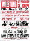Men NWA Wrestling Posters