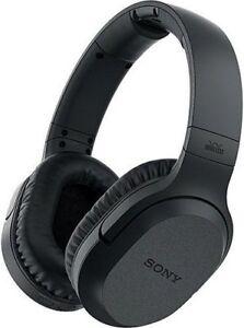 Sony MDR-RF995RK RF Wireless Headphones Universal TV Phone Game PC Devices