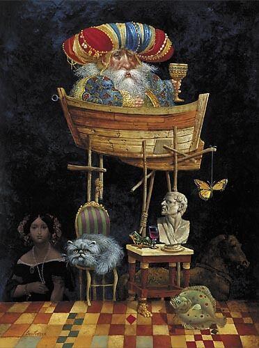"""Monarch of All He Surveys"" James Christensen Limited Edition Fine Art Print"