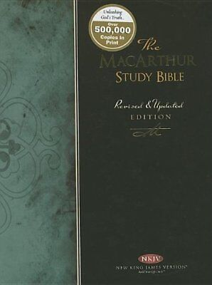 The Macarthur Study Bible: New King James Version by John