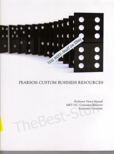 Pearson custom business resources ebay fandeluxe Images
