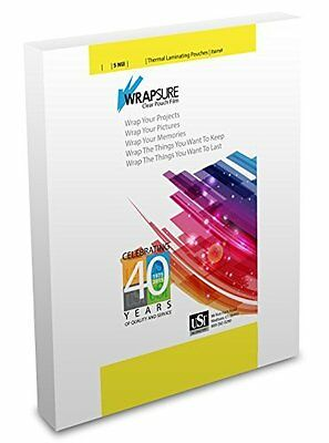 Usi Wrapsure Thermal Laminating Pouches Legal Size 5 Mil 9x14.5 100-pack