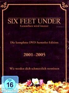SIX FEET UNDER, Die komplette Serie (24 DVDs) NEU+OVP - Neumarkt im Hausruckkreis, Österreich - SIX FEET UNDER, Die komplette Serie (24 DVDs) NEU+OVP - Neumarkt im Hausruckkreis, Österreich