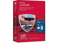 Mcafee Livesafe | 3 Years | RRP £89 | Sale £30