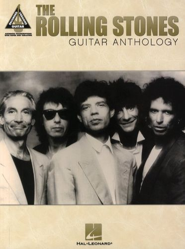 The Rolling Stones Guitar Anthology Learn to Play Pop Rock TAB Music Book