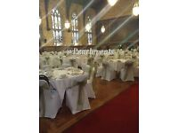 White chair covers for HIRE - wedding, party, birthday, event