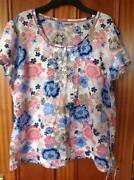 Ladies Cotton Shirt Size 20