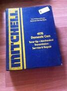 Mitchell Repair Manuals