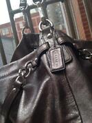 Coach Pewter Handbag