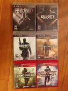 PS3 Game Lot Call of Duty