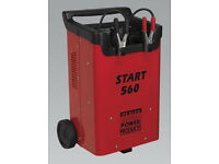 Sealey Tools START560 Jump Starter Charger 560Amp 12 & 24V Lorry Van Car
