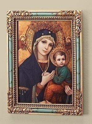 Our Lady of Perpetual Help Framed Wall Plaque by Roman Inc