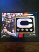 2012 Topps Football Captain Patch