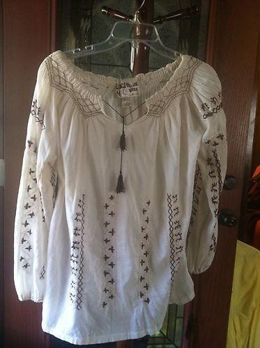 Mexican Peasant Blouses