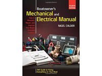BOATOWNERS MECHANICAL & ELECTRICAL MANUAL BY NIGEL CALDER> 4TH HARDBACK EDITION.