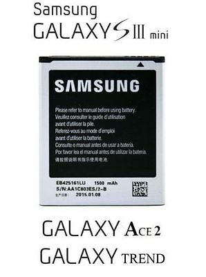 🔋 1500mAh EB425161LU Battery Samsung Galaxy S3 Mini Ace 2 i8160 Duos i8190 ** for sale  Shipping to India