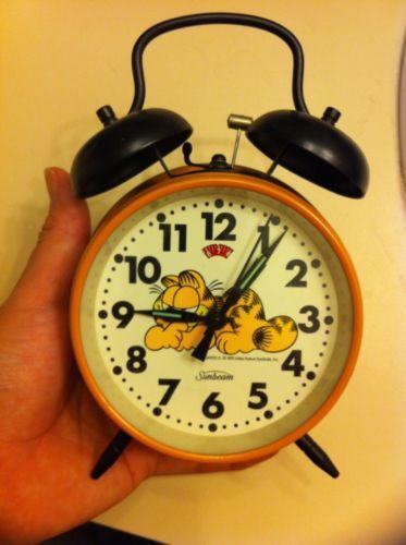 Sunbeam Garfield Clock Ebay