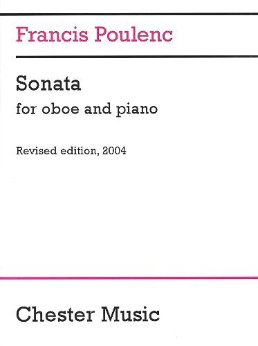 Francis Poulenc: Sonata for Oboe and Piano (Revised 2004) CH62711