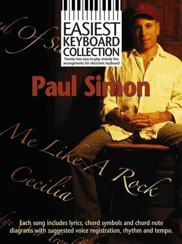Easiest Keyboard Collection Paul Simon Learn to Play EASY Piano Music Book
