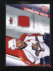 Cory Stillman Piece of Authentic Hockey Trading Cards