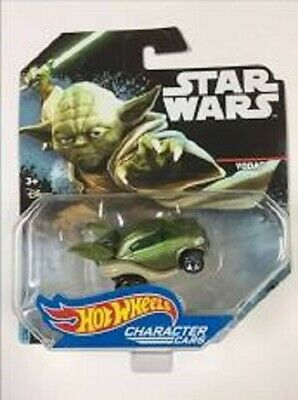 Hot Wheels Star Wars Yoda (die-cast character car)