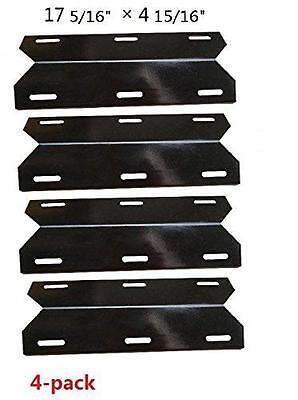 Charmglow Gas Grill Heat Plate Porcelain Steel Heat Shield  hyJ304A-4pack - Charmglow Gas Grill
