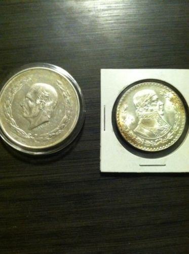 Mexican 1 Peso Silver Coin Ebay