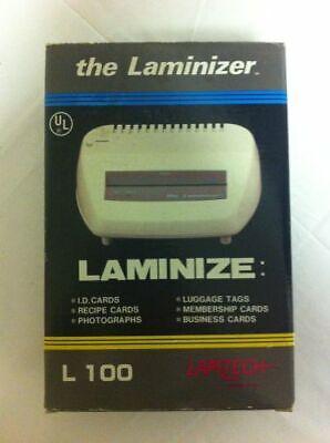 The Laminizer RPA-100 Model Portable Laminator L100