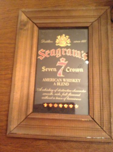 The Man Cave Store Buford : Seagrams mirror ebay