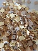 Old Scrabble Tiles