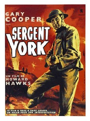 - Sergeant York Movie Poster 24in x 36in