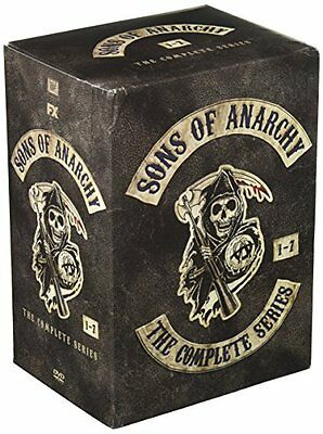 Sons Of Anarchy Complete Series 1 7  Dvd 29 Disc Boxset
