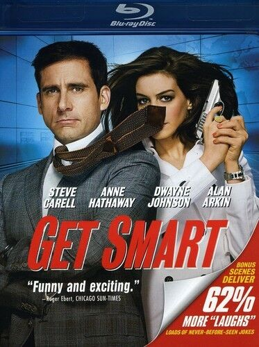 Get Smart  [Special Edition] [3 Discs] [ (2009, REGION A Blu-ray New) BLU-RAY/WS