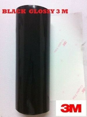 24 X 50 Feet Black Glossy 3m Graphic Sign Cutting Vinyl Scotchcal Sc50