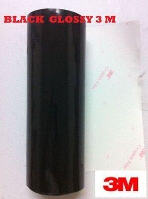 12 X 10 Feet Black Glossy 3m Graphic Sign Cutting Vinyl Scotchcal Sc50
