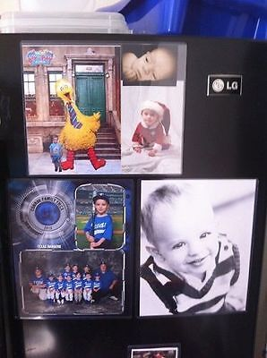Lot of (8) Clear Magnetic 8x10 Picture, Photo Frames