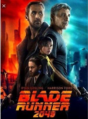 Blade Runner 2049 New  Dvd 2017  Action  Thriller Pre Order Ships On 1 16 18