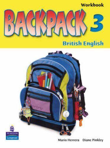 Backpack Level 3 Workbook by Diane Pinkley, Mario Herrera (Paperback, 2005)