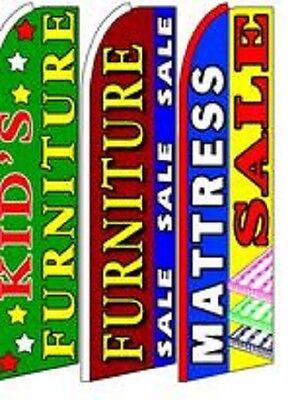 Kids Furniture, Mattress Sale King Size  Swooper Flag Sign  W/Complete 3 Set