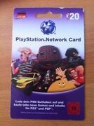 PlayStation Network Card 20