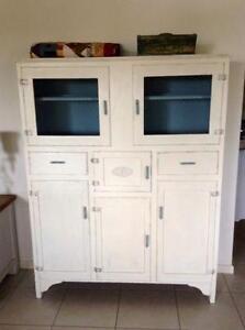 vintage kitchen dresser