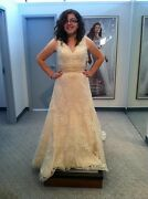 Alfred Angelo Lace Wedding Dress