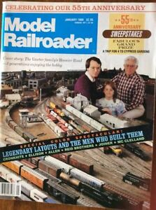 "1989 ""Model Railroader"" Magazine: ""55th Anniversary Special"""