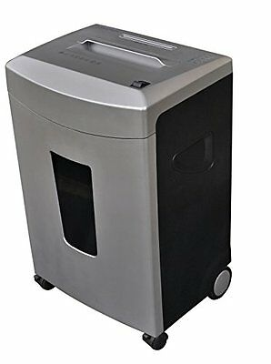 Aegis Om-12xc 12 Sheet Cross Cut Heavy Duty Paper Shredder