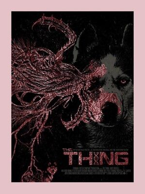 THE THING (QFS) John Carpenter SOLD OUT Ltd Print #9 of only 40! Mondo