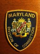 Maryland Police Patch